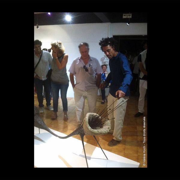 Exposition Laurent Sarpedon © Valérie Koch - Tous droits réservés
