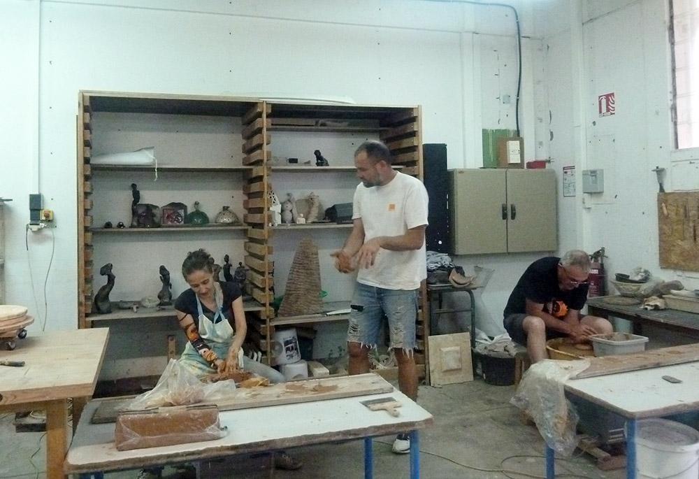 Formation et initiation à la céramique © Art Sud