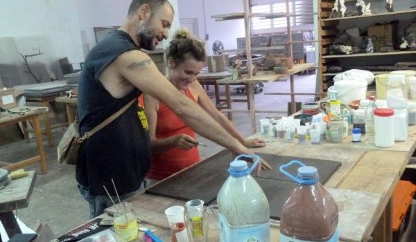 Projet de création d'atelier