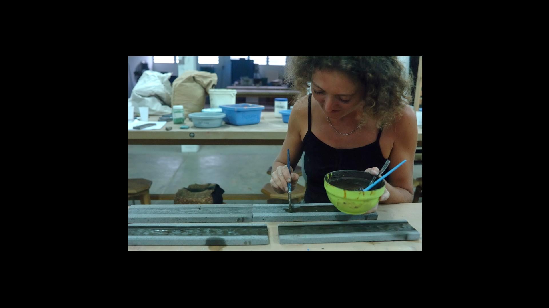 Travail en cours | Emmanuelle Toulouse © Valérie Koch