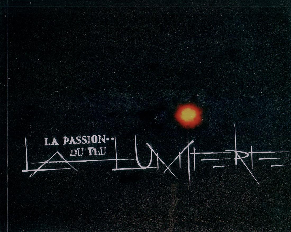 Catalogue La Passion du Feu | La lumière