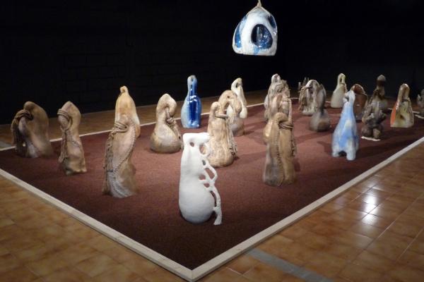 """exposition """"Les Contrepoids du Monde"""", par le céramiste David Leon Gimenez"""