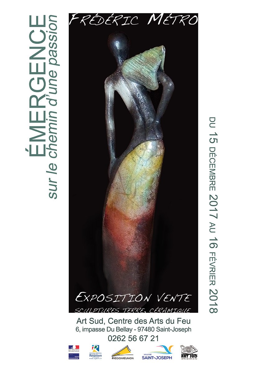 """Exposition Frédéric Métro, Émergence """"sur le chemin d'une passion"""" à Art Sud"""