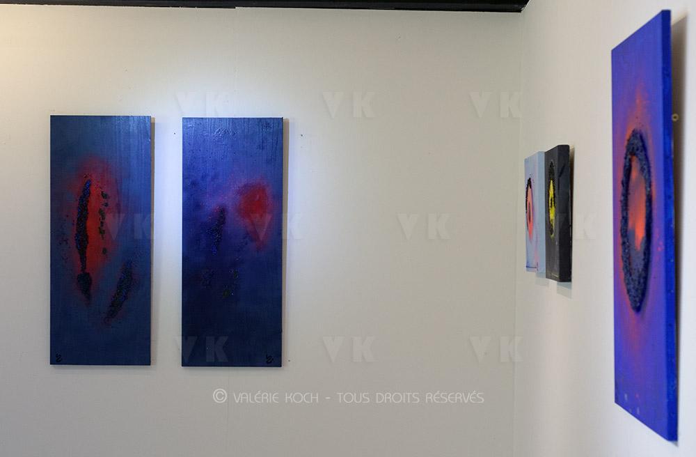"""Patrick Norton """"Au fil du feu"""" et Yennie Dan Zile © Valérie Koch - Tous droits réservés"""